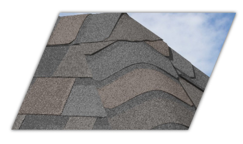 This is an example of the Shadow Ridge roofing shingle