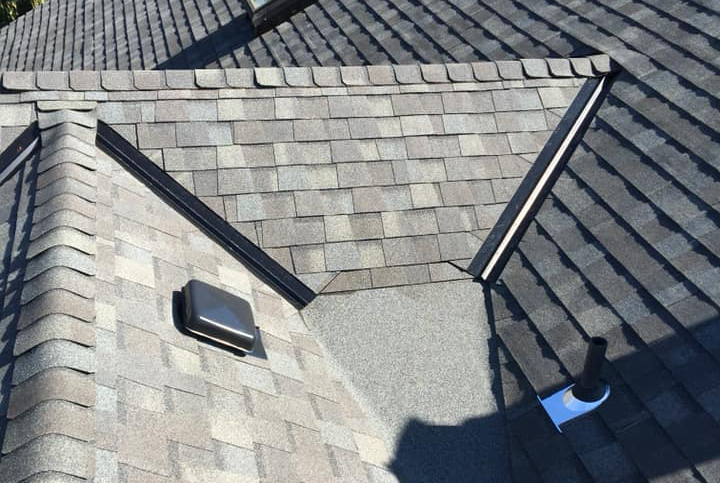 one of our customers re-roofing projects